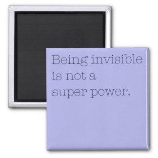 Invisibility Button Square Magnet