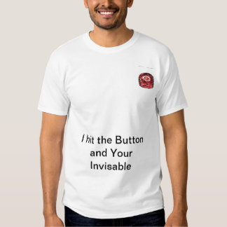 Invisible Button T Shirts