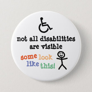 Invisible Disability Badge