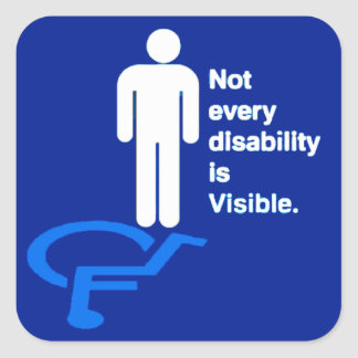 Invisible Disability Stickers