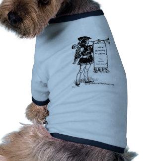 ®invisible magic wand pet t shirt