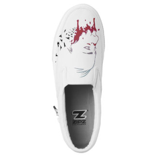 Invisible Monsters Slip On Shoes