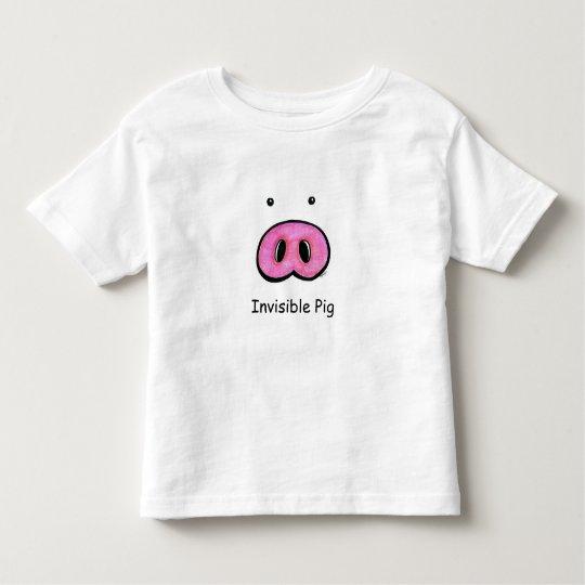 Invisible Pig Tee Shirt