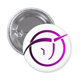 Invisible Pink Unicorn Button