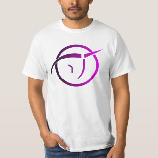 Invisible Pink Unicorn Logo T-Shirt