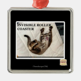 Invisible Roller Coaster Christmas Ornament