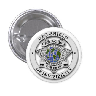 Invisible TO Muggles! Pinback Buttons