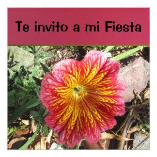 Invitación - Te invito a mi Fiesta Custom Invitations