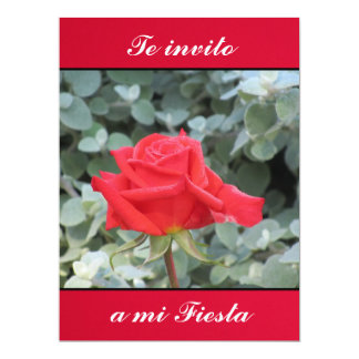 La roja gifts t shirts art posters other gift ideas - Te invito a mi cumpleanos ...