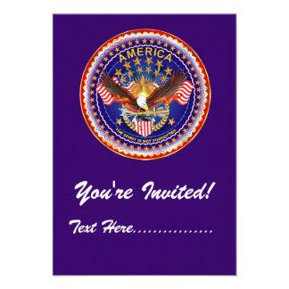 Invitation 3 5 x 5 America not forgotten