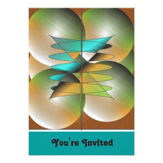 "Invitation ""Balloons"""