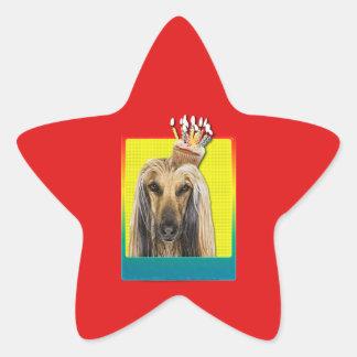 Invitation Cupcake - Afghan Star Sticker