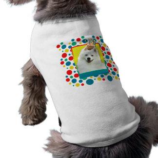 Invitation Cupcake - American Eskimo Pet Tee Shirt