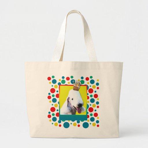 Invitation Cupcake - Bedlington Terrier Bag