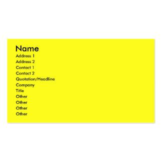 Invitation Cupcake - Bulldog - Light Pack Of Standard Business Cards