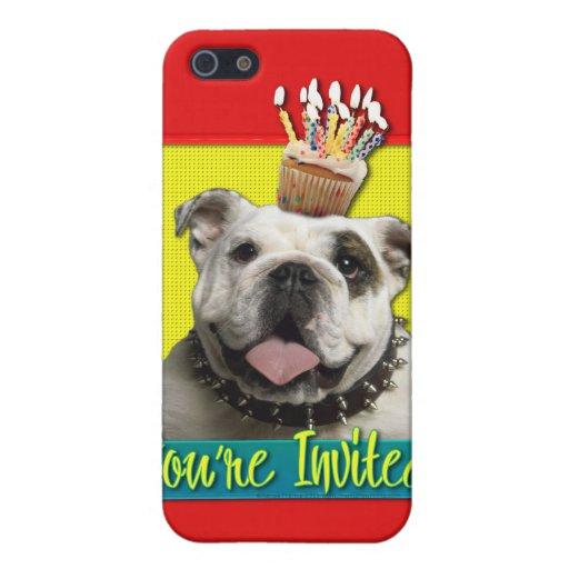 Invitation Cupcake - Bulldog - Light Case For iPhone 5