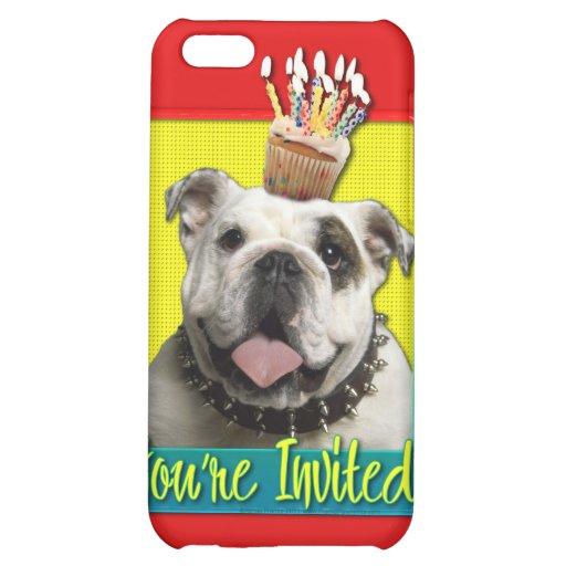 Invitation Cupcake - Bulldog - Light Cover For iPhone 5C