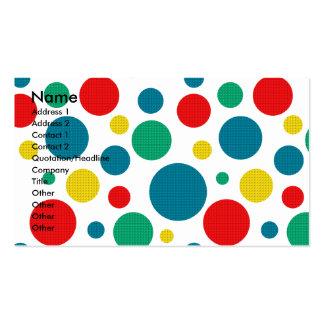 Invitation Cupcake - Dalmatian Business Card Template
