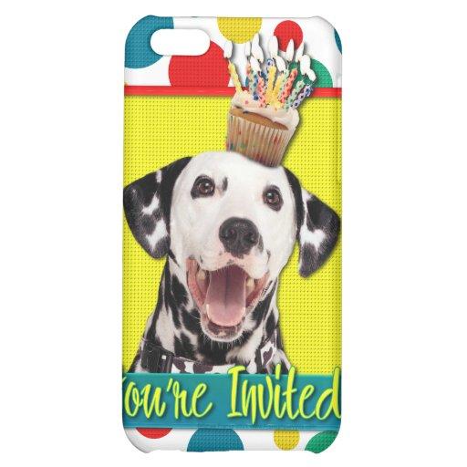 Invitation Cupcake - Dalmatian Cover For iPhone 5C