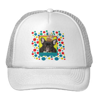 Invitation Cupcake - French Bulldog - Teal Trucker Hat