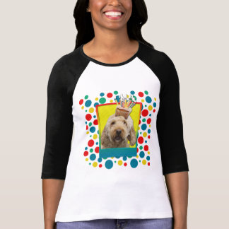 Invitation Cupcake - GoldenDoodle T-Shirt