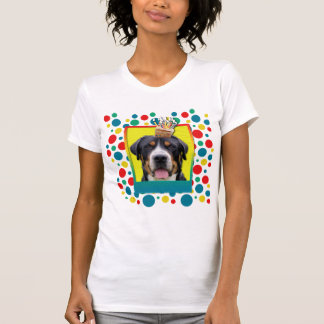 Invitation Cupcake - Greater Swiss Mountain Dog Tee Shirts