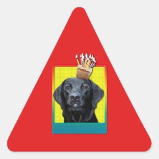 Invitation Cupcake - Labrador - Black - Gage Triangle Stickers