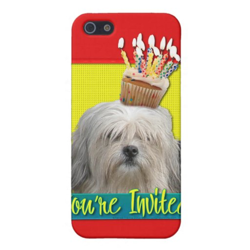 Invitation Cupcake - Lowchen iPhone 5 Cover