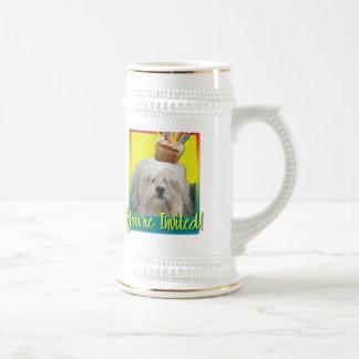 Invitation Cupcake - Lowchen Mugs