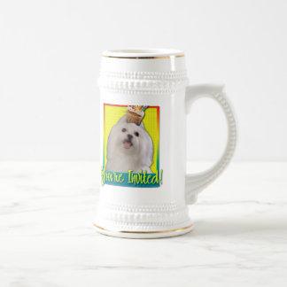 Invitation Cupcake - Maltese Mugs