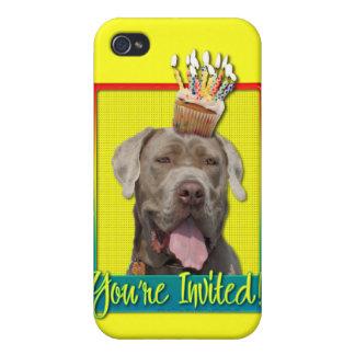 Invitation Cupcake - Mastiff - Snoop iPhone 4/4S Cases