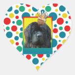 Invitation Cupcake - Newfoundland Heart Stickers