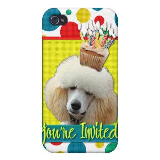 Invitation Cupcake - Poodle - Apricot iPhone 4/4S Case