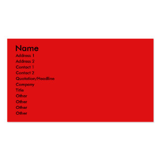 Invitation Cupcake - Poodle - Red Pack Of Standard Business Cards