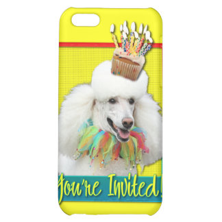 Invitation Cupcake - Poodle - White iPhone 5C Covers