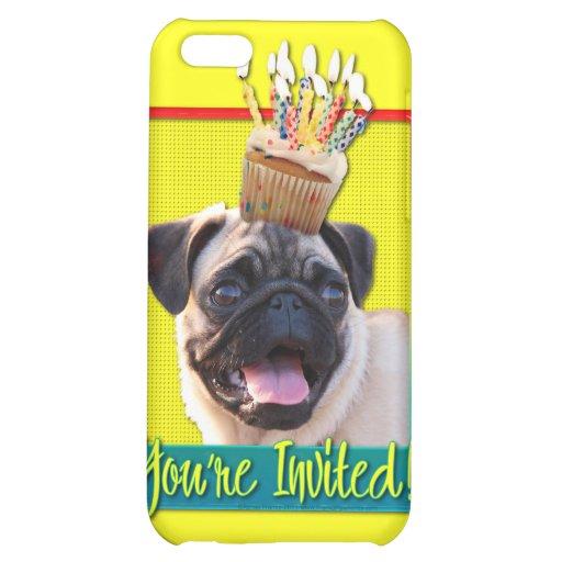 Invitation Cupcake - Pug iPhone 5C Cover