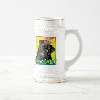Invitation Cupcake - Pug - Ruffy Coffee Mugs