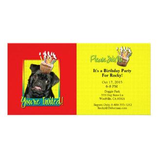 Invitation Cupcake - Pug - Ruffy Photo Cards