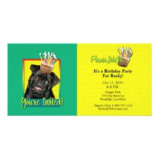 Invitation Cupcake - Pug - Ruffy Picture Card