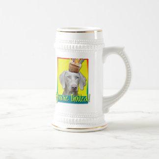 Invitation Cupcake - Weimeraner Mug