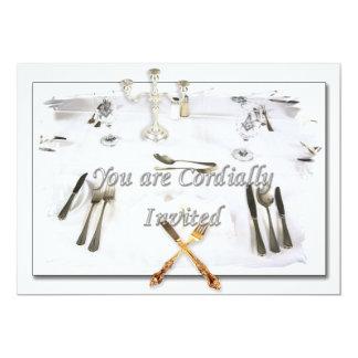 INVITATION DINNER CARDS