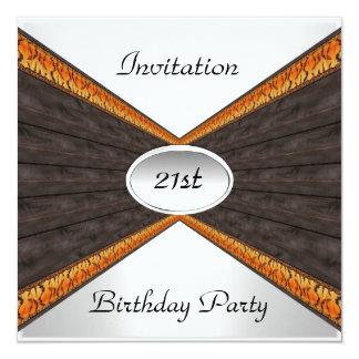 Invitation Envelope Any Birthday 21st Birthday