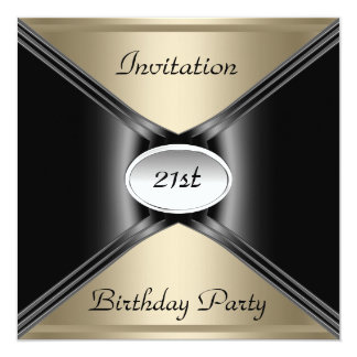 Invitation Envelope Any Birthday Coffee color