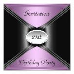 Invitation Envelope Any Birthday Purple colour