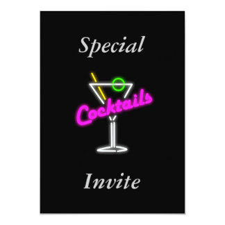 Invitation For A Cocktail Party