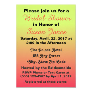 Invitation for Bridal Shower & More