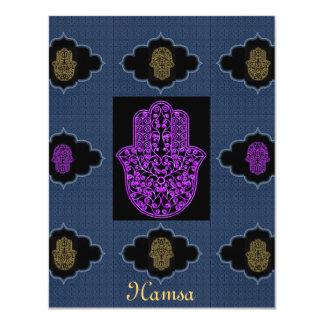 Invitation*Hamsa*Event 11 Cm X 14 Cm Invitation Card