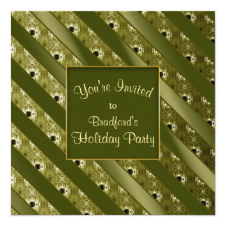Invitation - Holidays/Events - Green Bliss/Gold