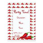Invitation - Hot Chilli Peppers
