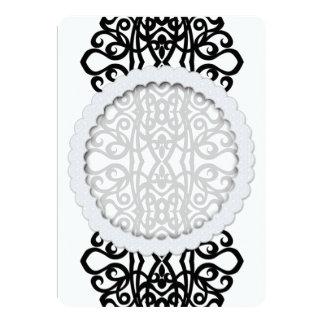 Invitation Lace Embroidery Design